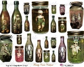fReAky CuRiO CaBiNeT - Digital Collage Sheet (no 133)