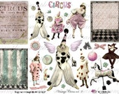 ViNtAgE CiRcUs voL. 2 - Digital Collage Sheet (no 222)