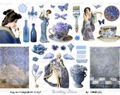 sHoOtiNg bLuEs - Digital Collage Sheet (no 516)