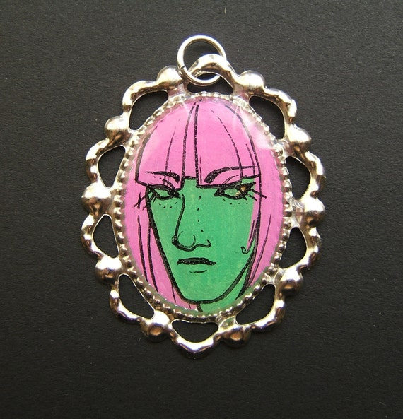 ACID LADIES Betty Pendant21 x 30 mm
