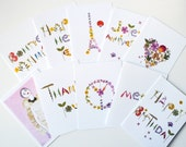 Set of 5 Note Cards ///CHOOSE YOUR CARDS///