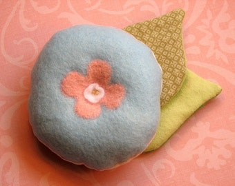 Blue Blossom Pincushion
