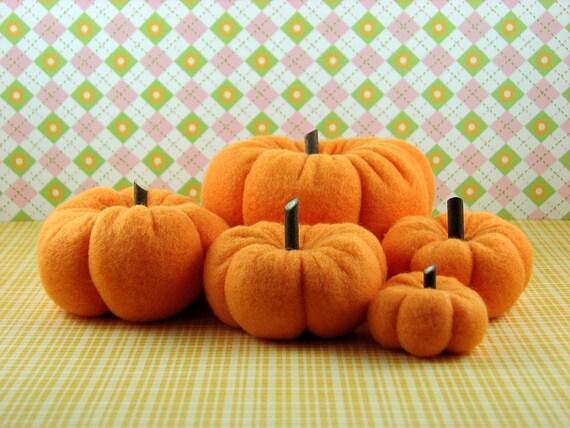 Fall Pumpkins for the Harvest Season (set V)