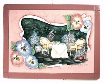 Patio Tea Party Decorative Art 209