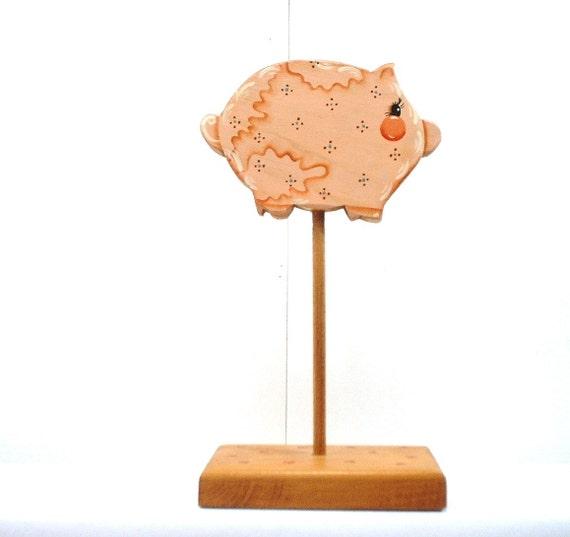 Pig On A Stick Decorative Art x182