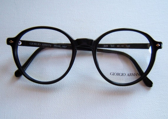 GIORGIO ARMANI vintage eyeglasses Made in Italy NEW NEVER