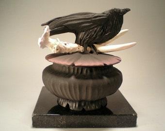 Crow Antler Box