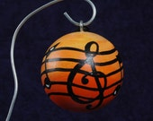 MUSIC Ornament Personalized FREE