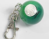 Personalized GOLF Charm for Purse -  Backpack -  Key Ring - ZIpper Pull