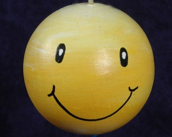 SMILEY Ornament Personalized