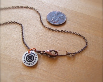 Antique Copper Necklace Chain - Assorted Lengths by Bullseyebeads