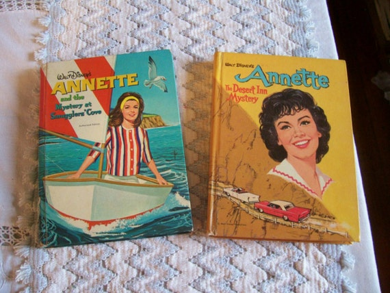 Annette Funicello 1960s Whitman Books-Smugglers Cove and Desert Inn Mysteries-2