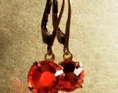 Asti Vintage Look Earrings in Hyacinth