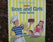vintage betty crocker boys and girls cookbook HAUSMITTEL