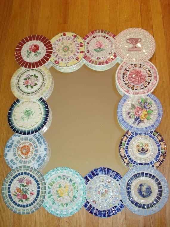 Mosaic Mirror - Multi Colored