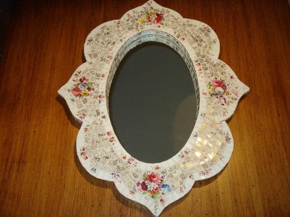 Decorative mosaic mirror