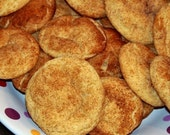 RESERVED LISTING FOR Linda Weeks for 2 Dozen Homemade Snickerdoodle Cookies