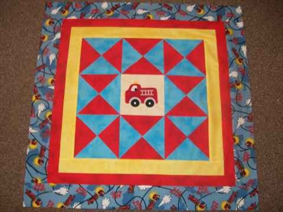 Fire Truck Baby Quilt Pattern Sewing Patterns For Baby