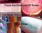 Customize 1 4oz soap