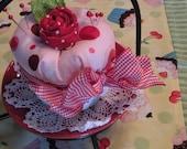 PDF Pattern Simply Sweet Cupcake Pin Cushion