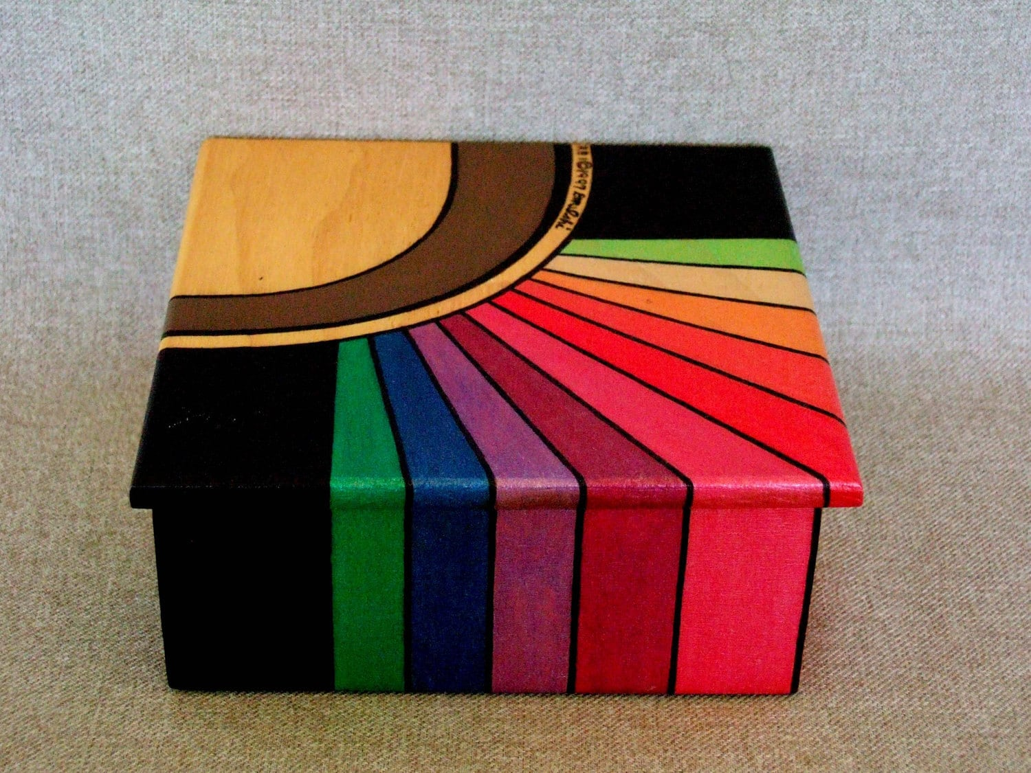 Painted Jewelry Box Designs