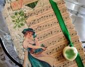 St. Patrick's Day, Joyful Embellished Tag