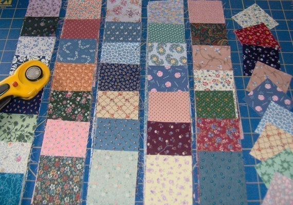 PIF 100 fabric squares  2.5 inches