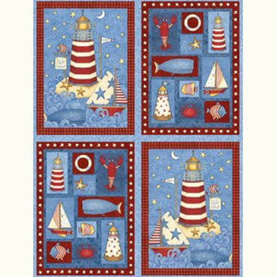 Fabric Panel - Debbie Mumm - Safe Harbor for SSI - 1 Panel - 29 x 44 inches