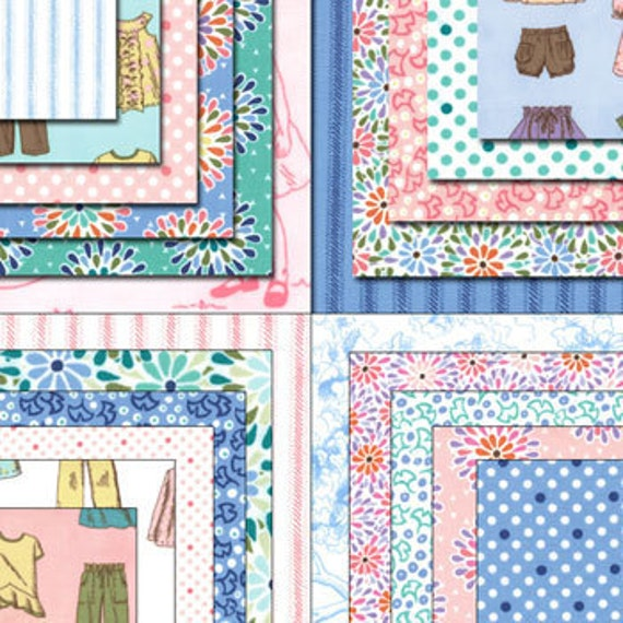 Moda Charm Pack - 42 - 5 inch squares - Cape Ann Charm Pack by Liesel Gibson
