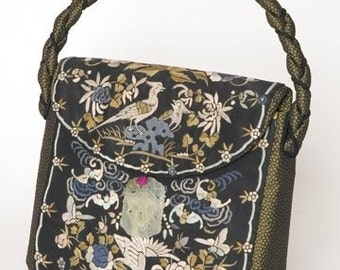 chinese embroidery purse