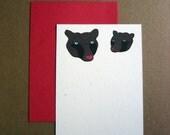 Love Bears Flat Notecard