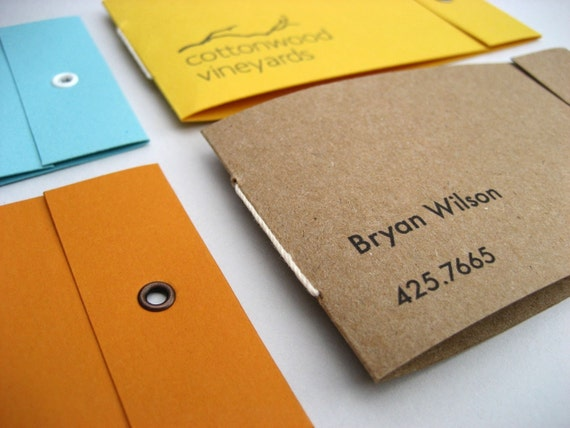 Items similar to 25 custom mini matchbook notebook for Matchbook business cards