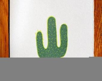 Cactus blank greeting card