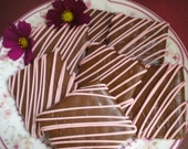 Pink Chocolate Covered Graham Crackers It's a Girl Baby Shower Communion Party Favors Birthday Party Christening Baptism Wedding Favors