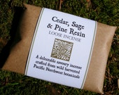 Cedar, Sage & Pine Resin - Loose Incense - 15g