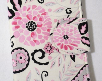 eReader Cover, Kindle Cover, Kindle Fire cover, Kindle Touch cover,  Book Style McKenzie Blossom