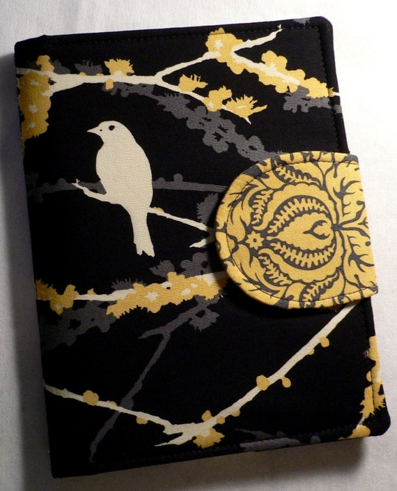 Kindle Cover, Kindle Paperwhite cover, Nook Tablet Cover, iPad Mini, Book Style Aviary Sparrows, Kindle Fire Cover, Kindle Touch Cover
