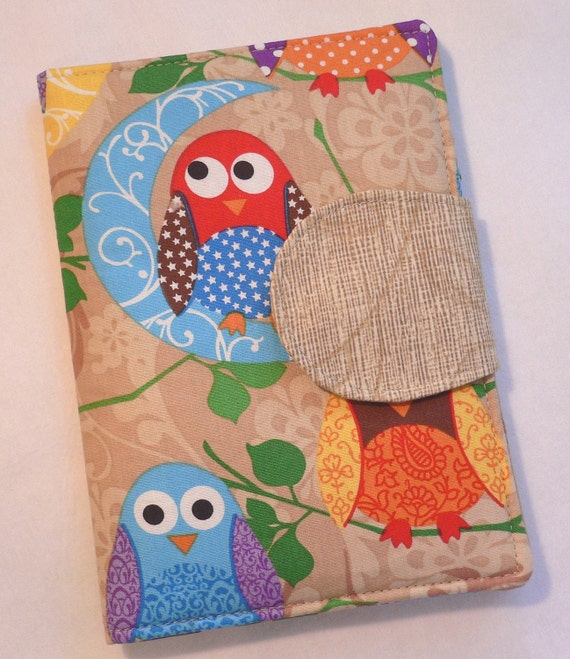 eReader Cover Book Style It's a Hoot in Tan