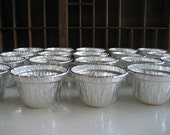 Vintage Aluminum Cupcake or Nut Cup - Small