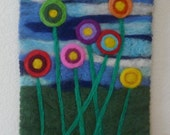 Fiber Art Painting Tapestry Needle Felted