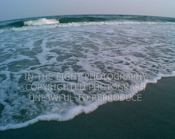 CLEARANCE Atlantic Ocean Waves - 8x10 fine art photo with foamboard
