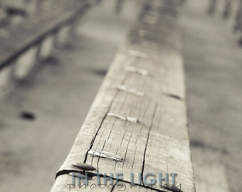 READY TO SHIP - Notre Dame Stadium - Before the Echoes Awake 1 - Fine Art Photography