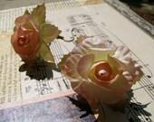 Dangling Blossom Earrings