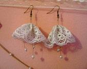 Bell Vintage Lace Earrings