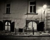 Streets of  Prague #5 - Silver Art Print - Czech Republic - Fine Art Photography -  Wall Art