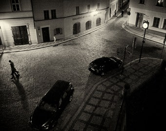 Streets of  Prague #9 - Silver Art Print - Czech Republic - Fine Art Photography -  Wall Art