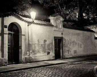 Streets of  Prague #10 - Silver Art Print - Czech Republic - Fine Art Photography -  Wall Art