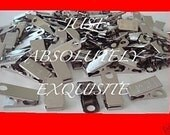 100 metal clips for id badge craft  pacifier holder
