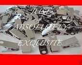 50 metal clips for id badge craft  pacifier holders office work name tags