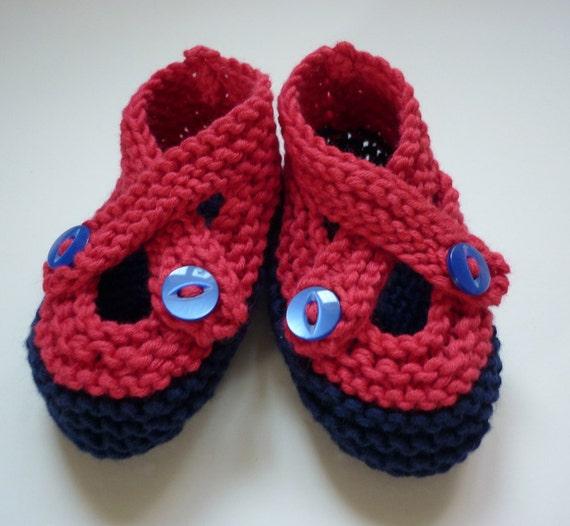 Baby Booties Knitting Pattern PDF Knitting Pattern Easy Knit